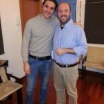 con Enrico Dindo